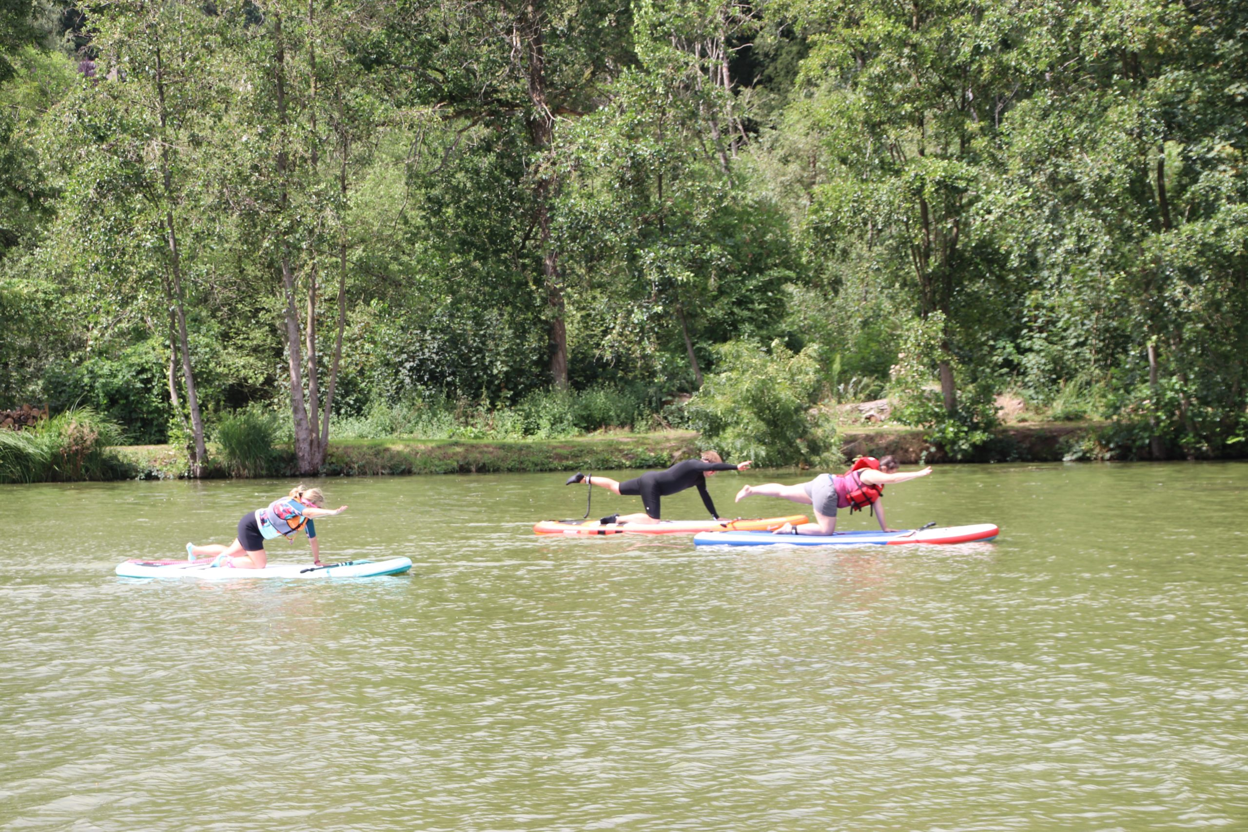 Stand-up paddle Yoga